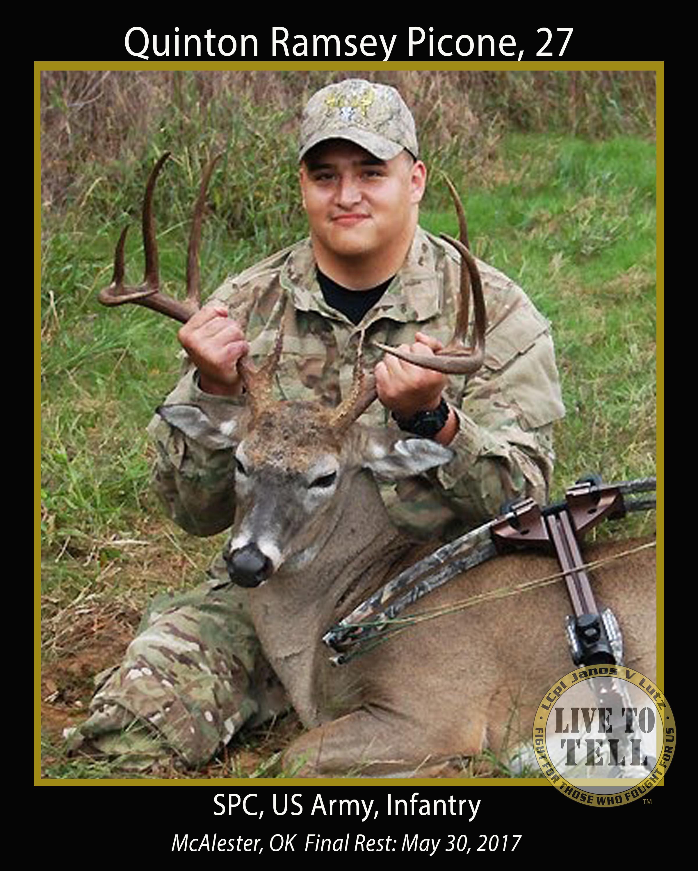 Quinton Ramsey Picone, 27