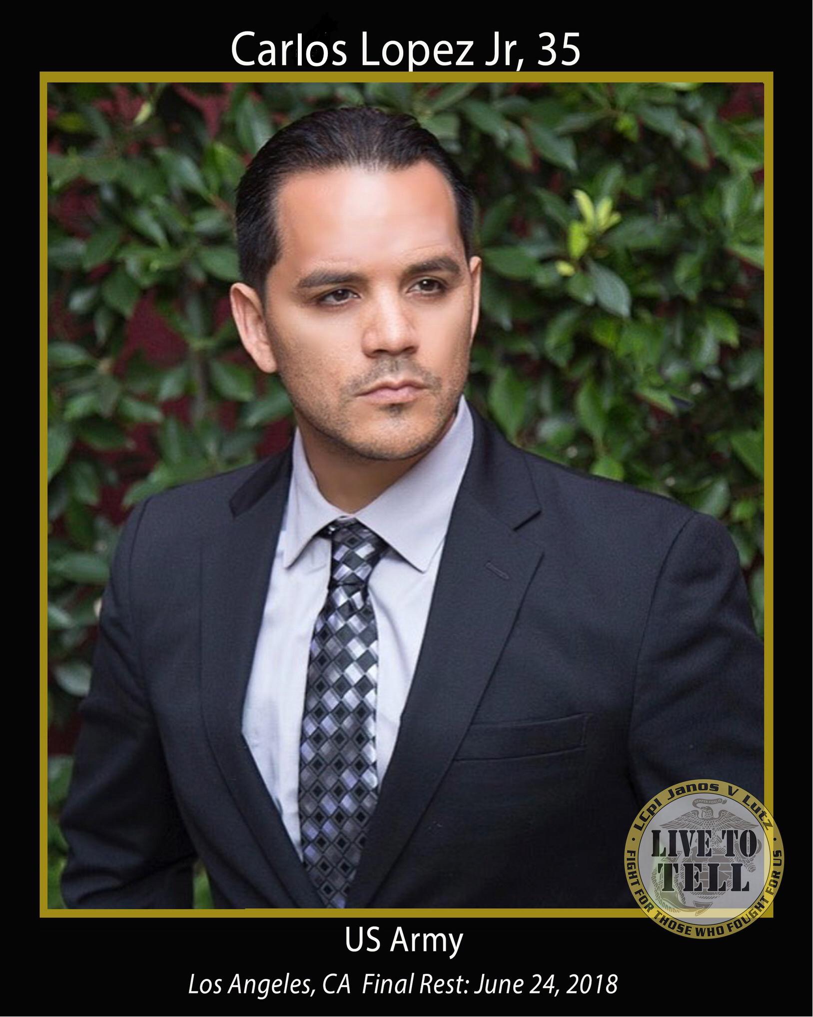 Carlos Lopez Jr, 35