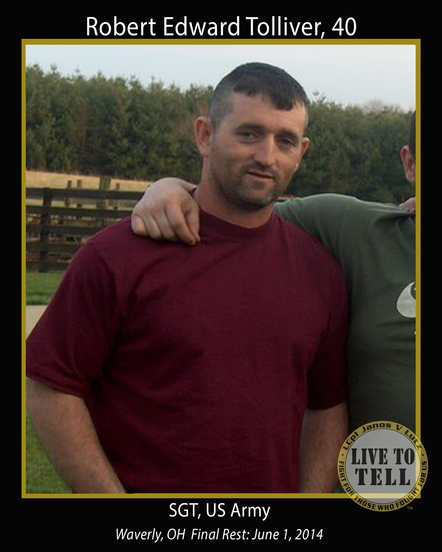 Robert Edward Tolliver, 40
