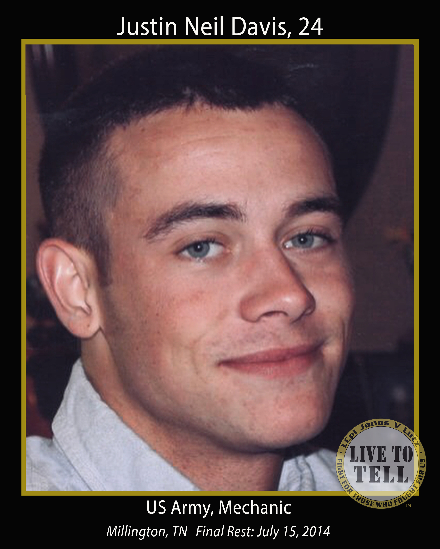 Justin Neil Davis, 24