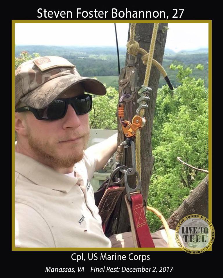 Steven Foster Bohannon, 27