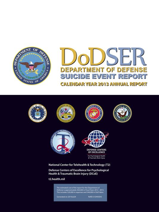 DOD Suicide Report 2013