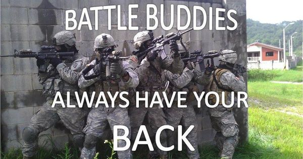 What it Means to Be A Battle Buddy