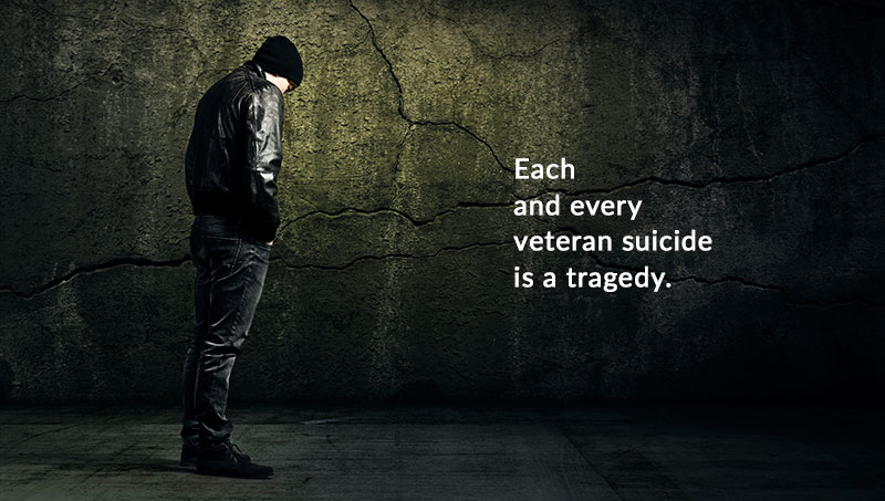 Higher veteran suicide rates calls for more concern