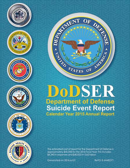 DOD Suicide Report 2015