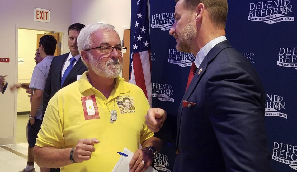 Rep. Steube trying to halt veteran suicide 'crisis'