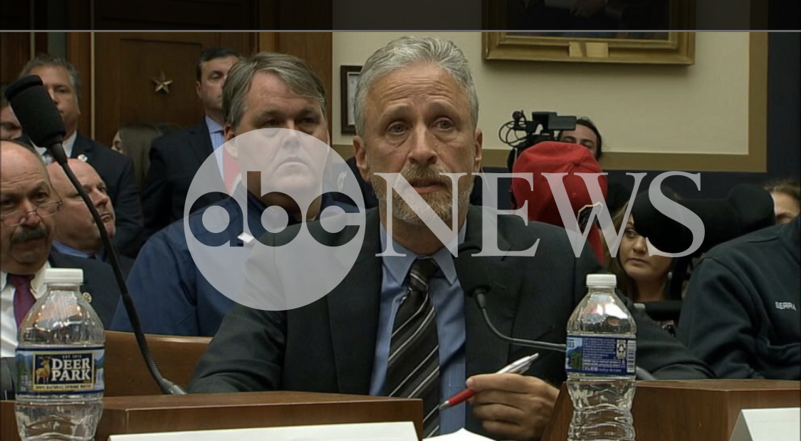 Senate votes to make 9/11 victims fund permanent as first responders, Jon Stewart look on