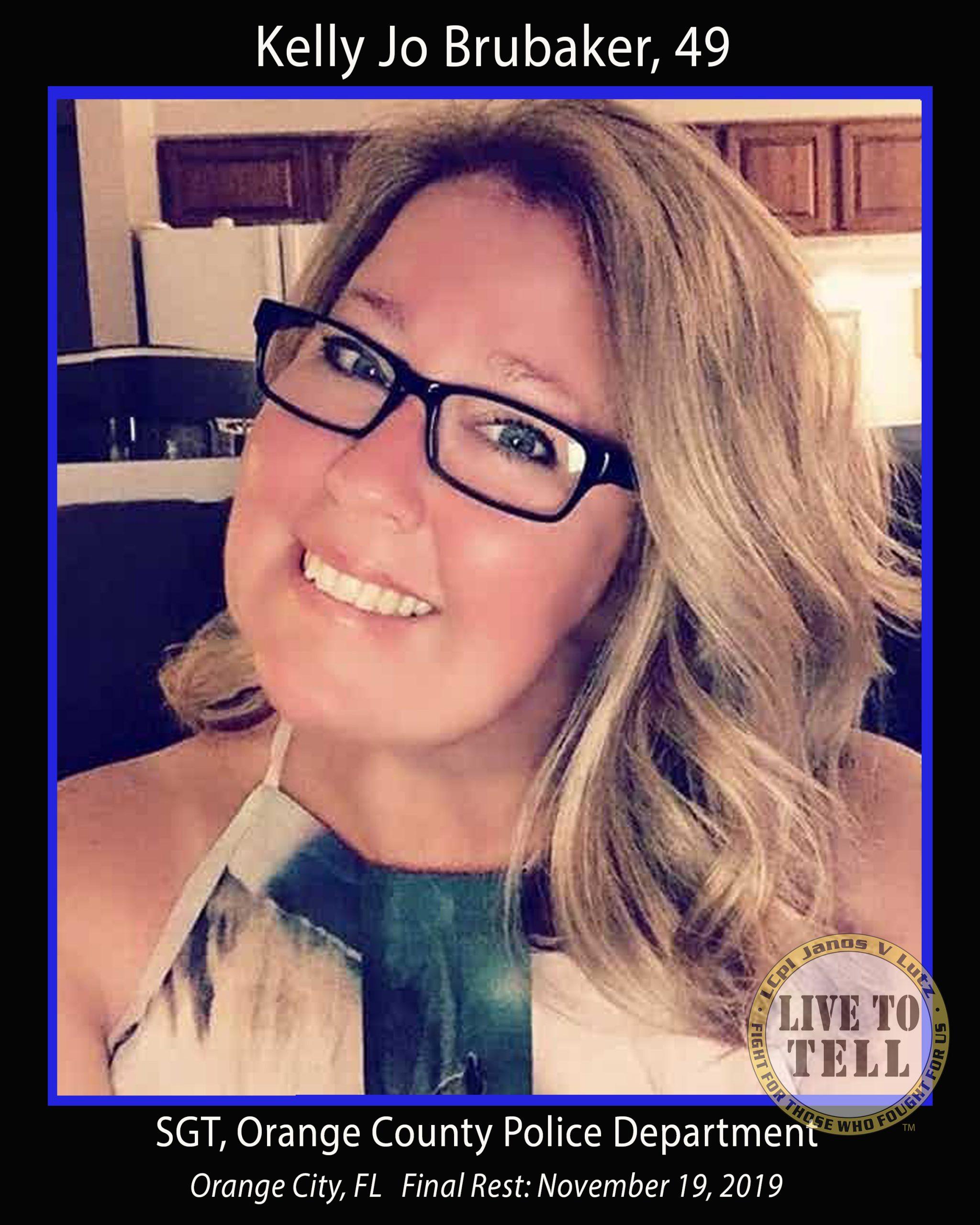 Kelly Jo Brubaker, 49