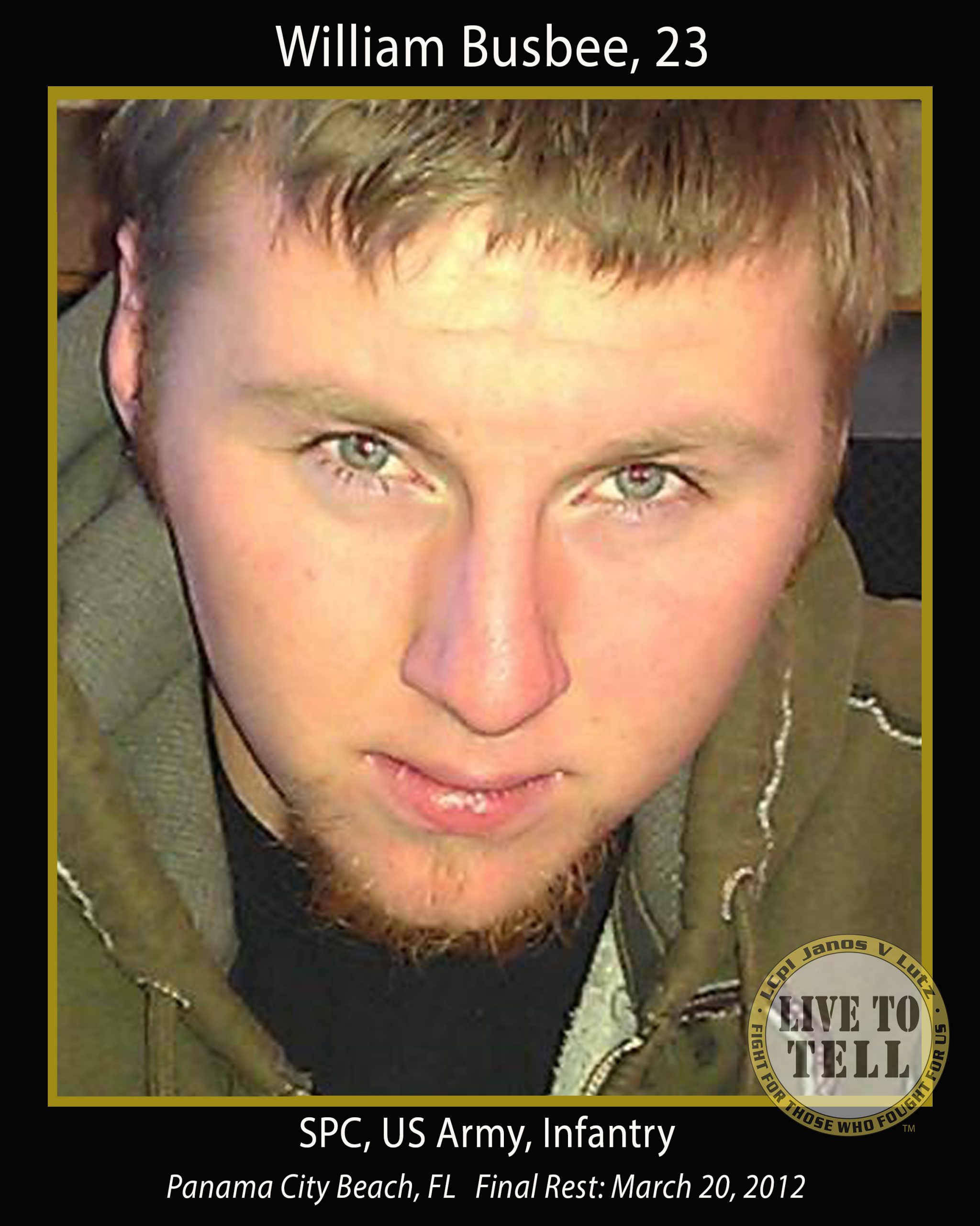 William Shane Busbee, 23