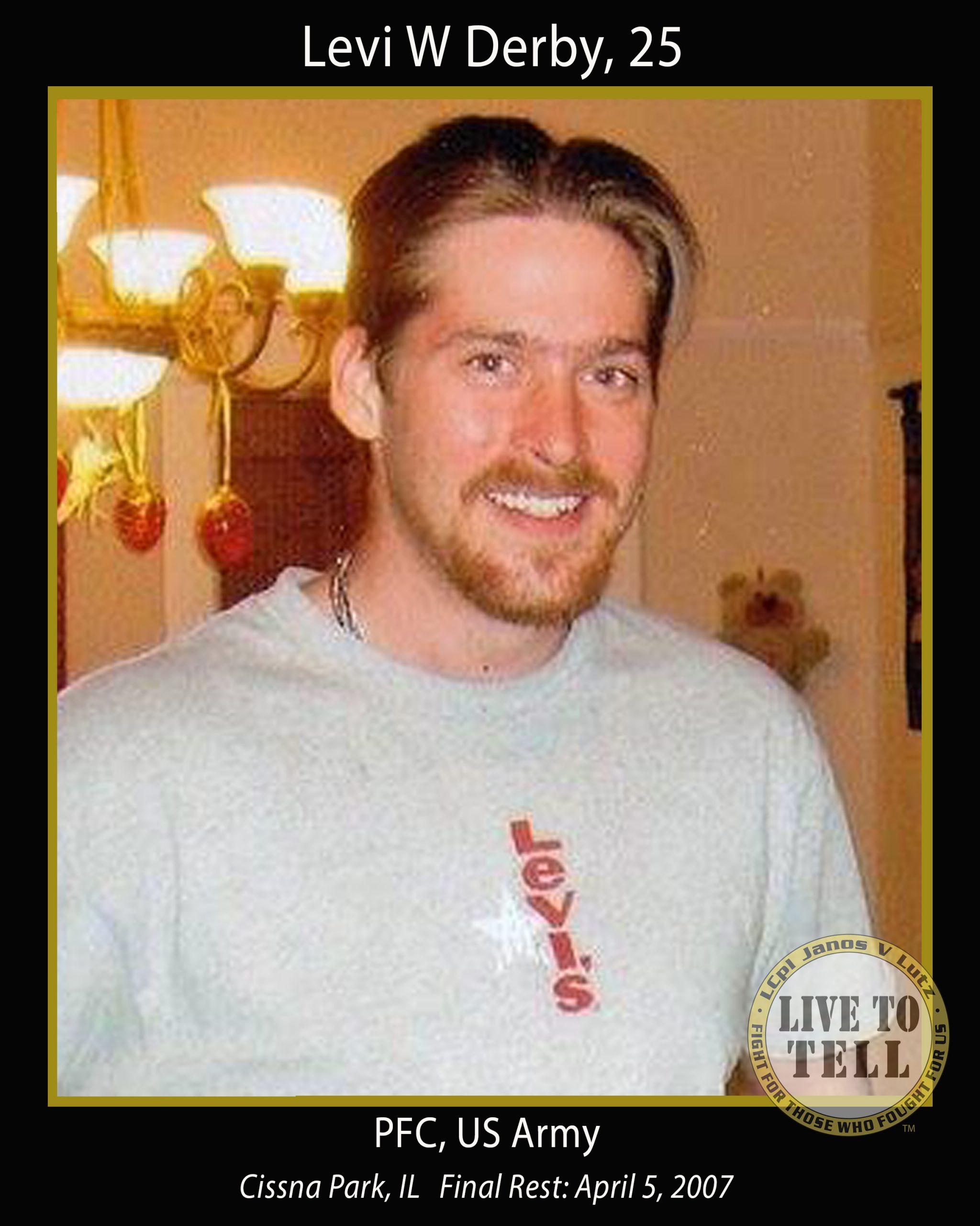 Levi W Derby, 25