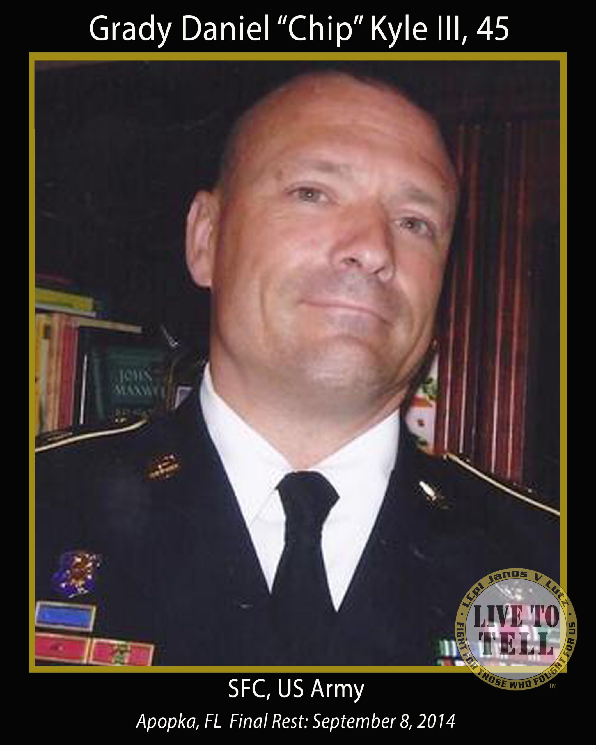 Grady Daniel Kyle III, 45