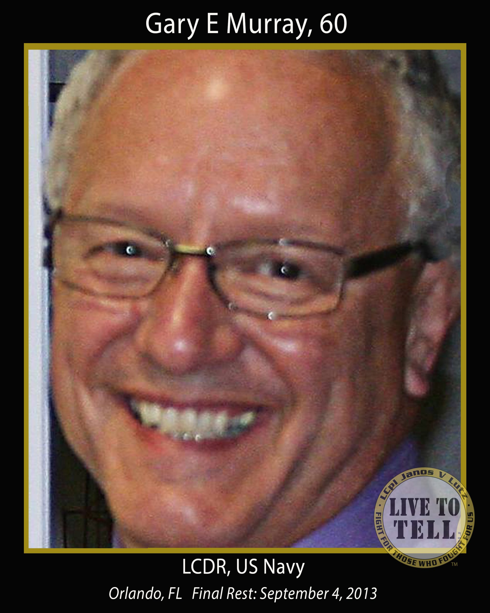 Gary E Murray, 60