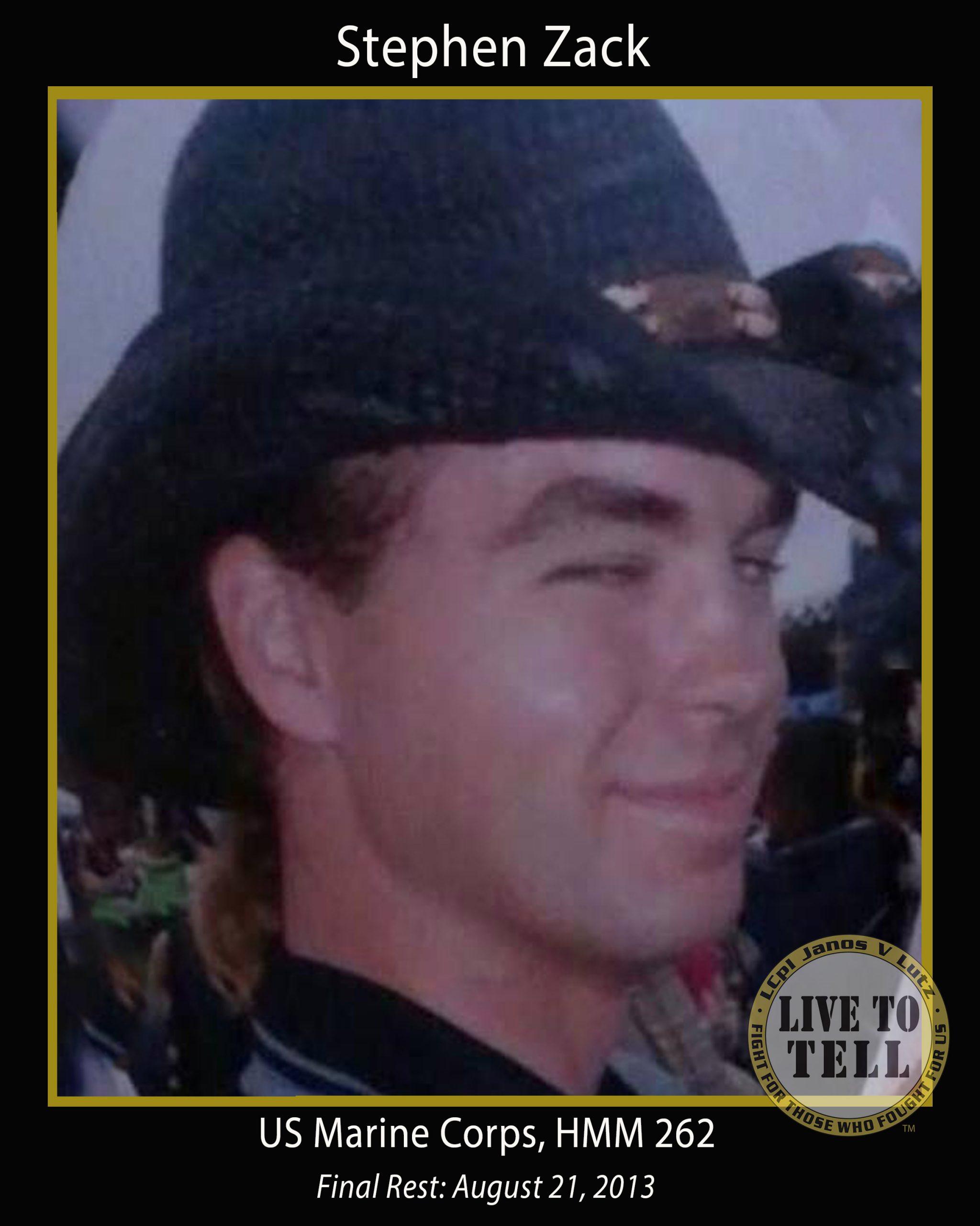 Stephen Lynn Zack, 33