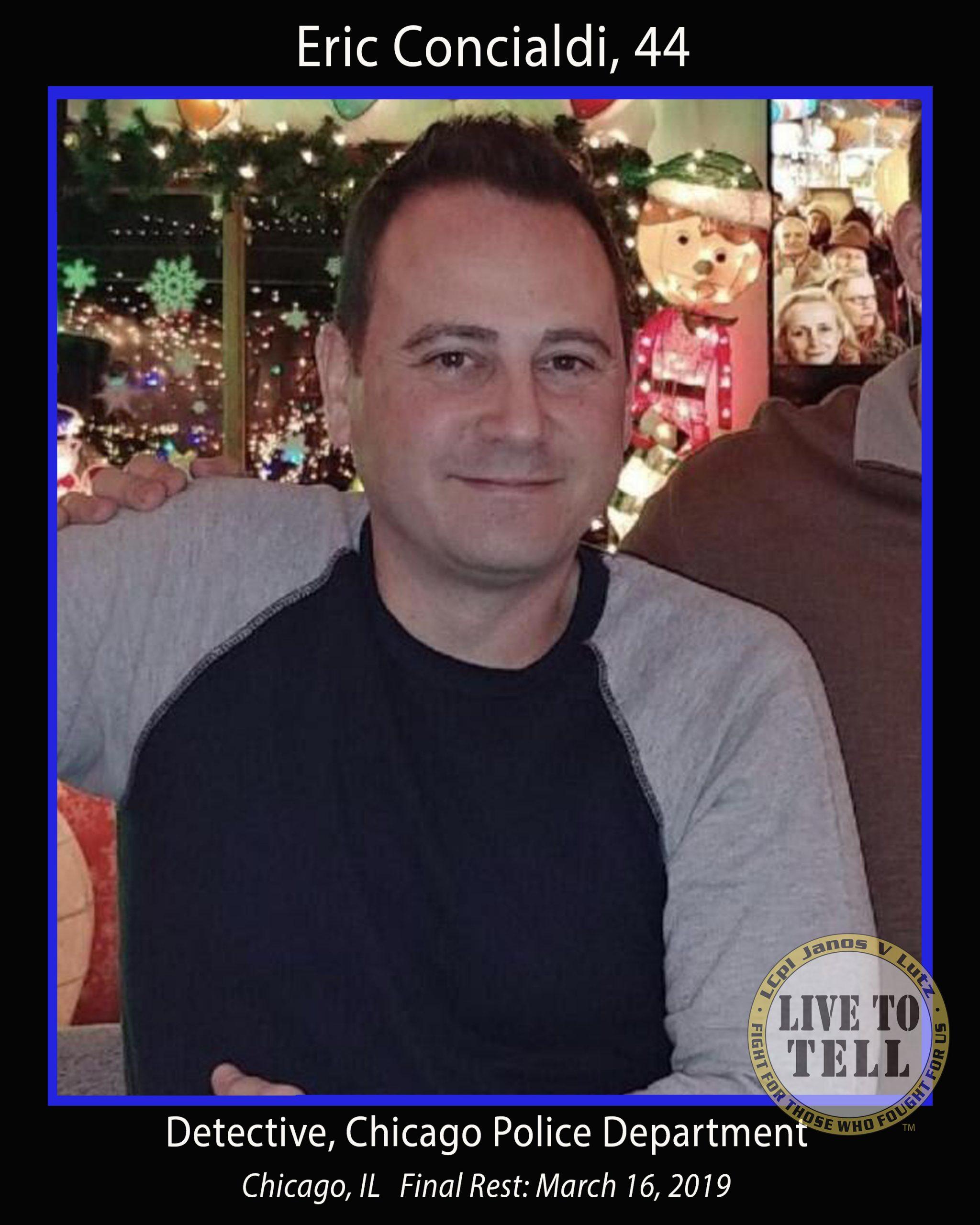 Eric Concialdi, 44