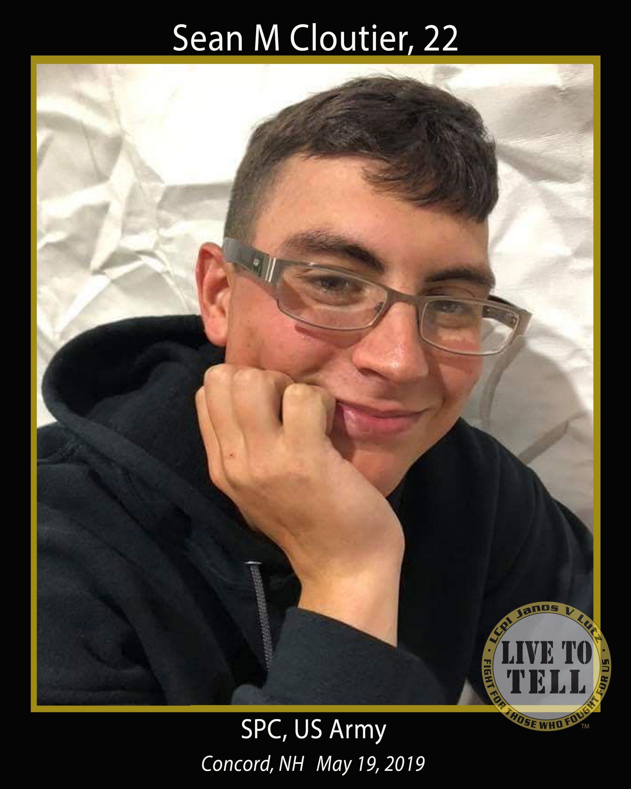 Sean M Cloutier, 22
